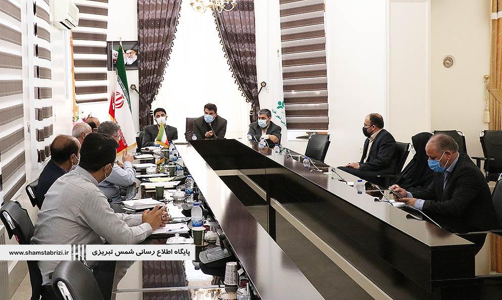 جلسه هیئت مدیره تولیت شمس تبریزی در صحن شورای اسلامی شهر خوی برگزار شد.